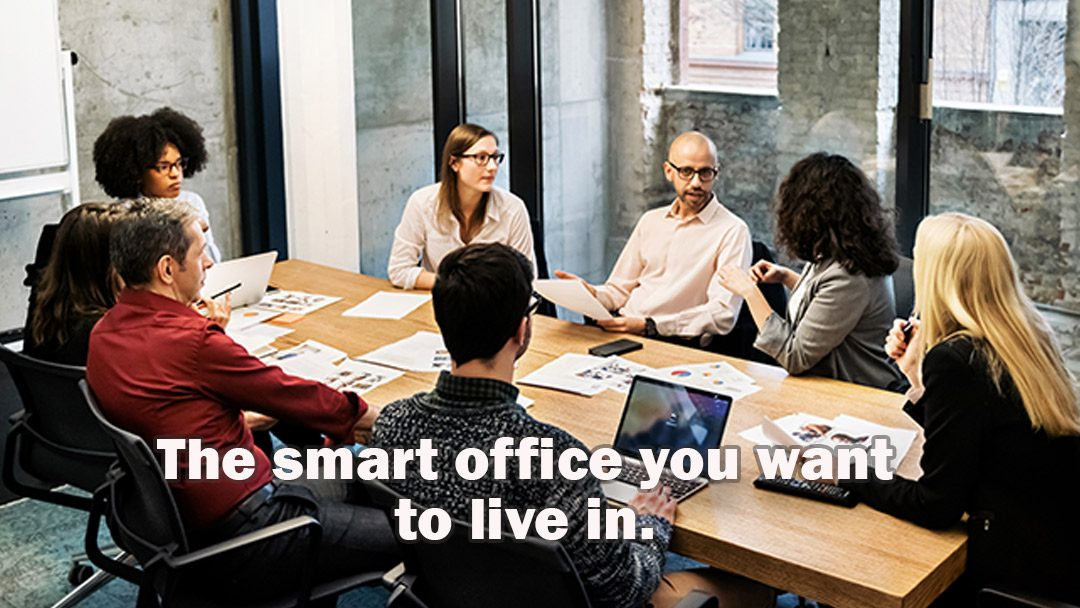 The smart office you want to live in
