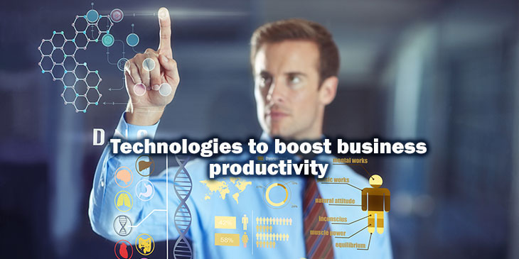 Technologies to boost business productivity