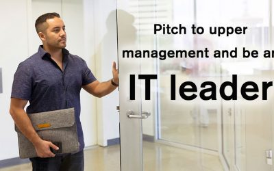 Pitch tech solutions to upper management – and succeed!